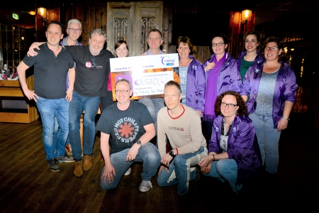 Nothing Else Matters: recordopbrengst voor KinderLoop voor Hoop