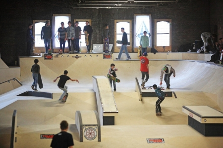 World Skate Center verhuist naar de Kaaihallen